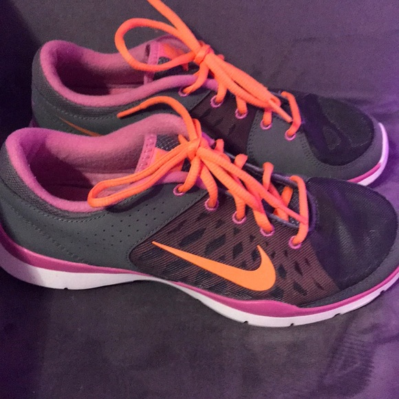 outlet store sale crazy price finest selection Nike Women's Flex Trainer 3 Size 9 Gray Pink